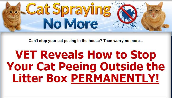 Stop cats from peeing everywhere